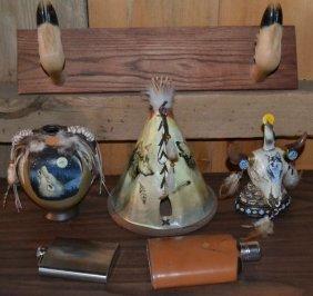 Collection: Deer Hoof Gun Rack, Native American