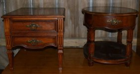 Two Thomasville Single Drawer Side Tables