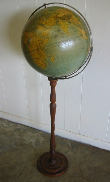 362: A J Nystrom & Co, Chicago terrestrial globe