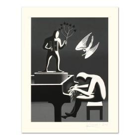 "Mark Kostabi - ""Cyclone Variations"" Limited Edition"