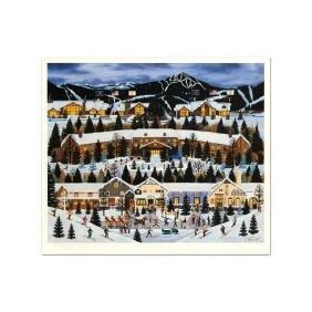 "Jane Wooster Scott - ""Alpine Winter Grandeur"" Limited"