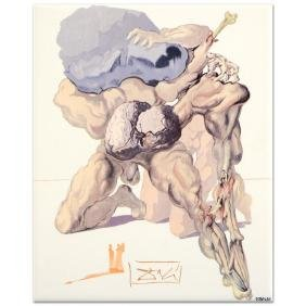 """Salvador Dali (1904-1989) - """"The Avaricious and the"""