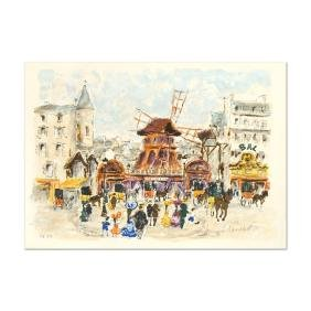 """Urbain Huchet - """"Moulin Rouge"""" Limited Edition"""