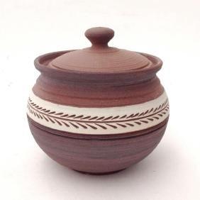 Eugenijus Tamosiunas - Hand Made Ceramic Jar with Lid!