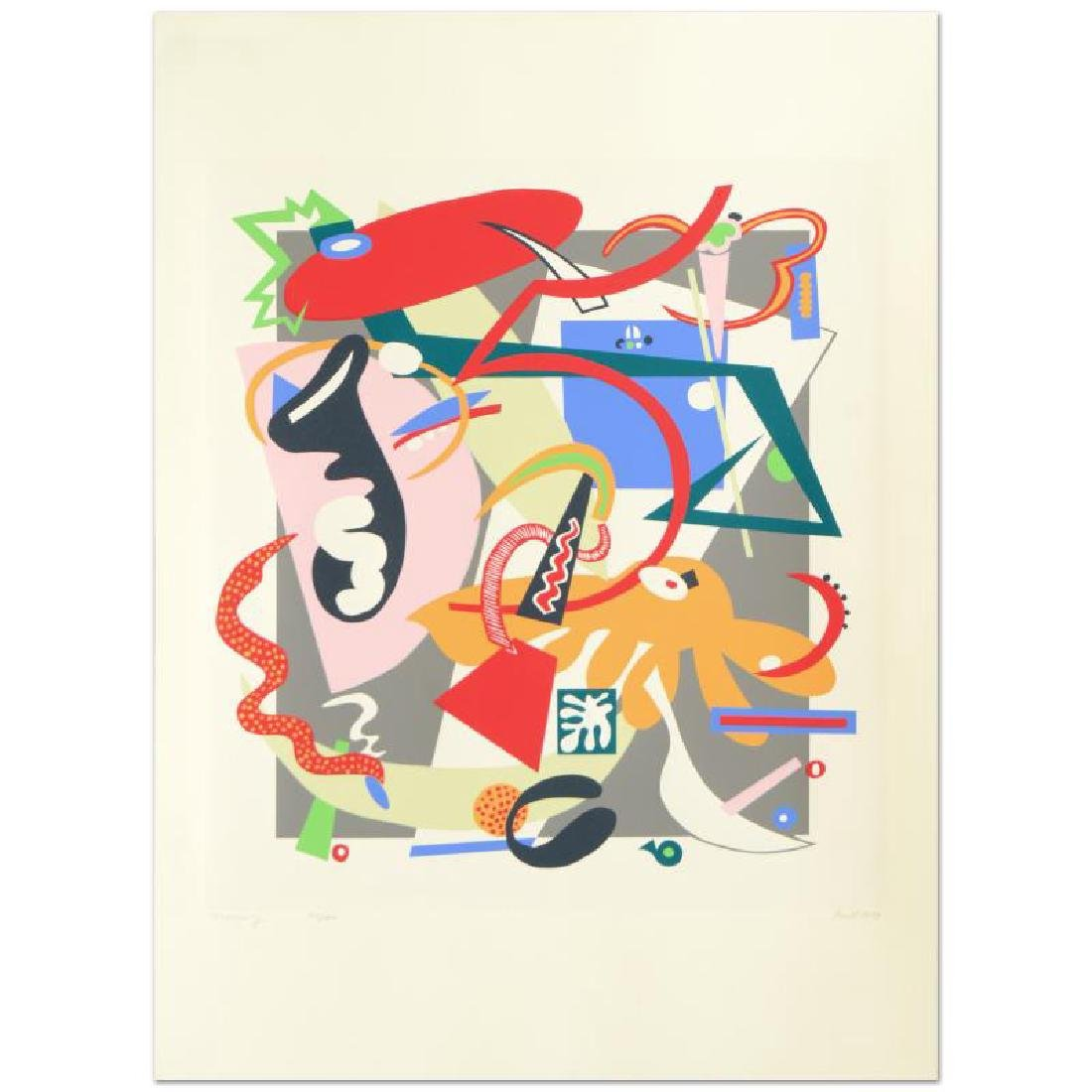 """""""Memory"""" Limited Edition Lithograph by Nina Paull,"""