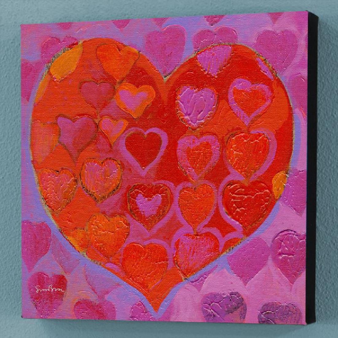 """""""Playful Heart VI"""" Limited Edition Giclee on Canvas by"""