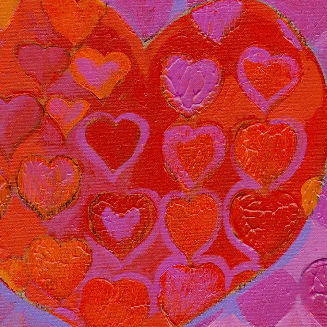 """""""Playful Heart VI"""" Limited Edition Giclee on Canvas by - 2"""