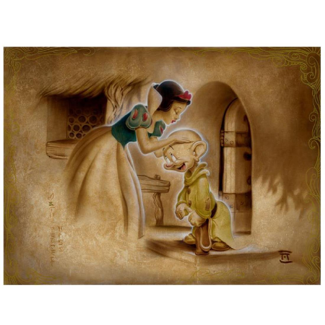 """Noah - """"Awaiting the Kiss"""" Limited Edition Giclee on"""
