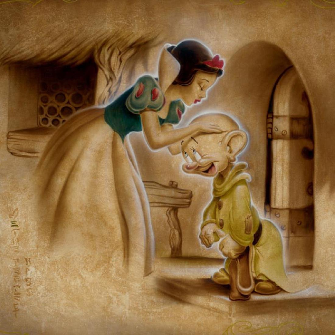 """Noah - """"Awaiting the Kiss"""" Limited Edition Giclee on - 2"""