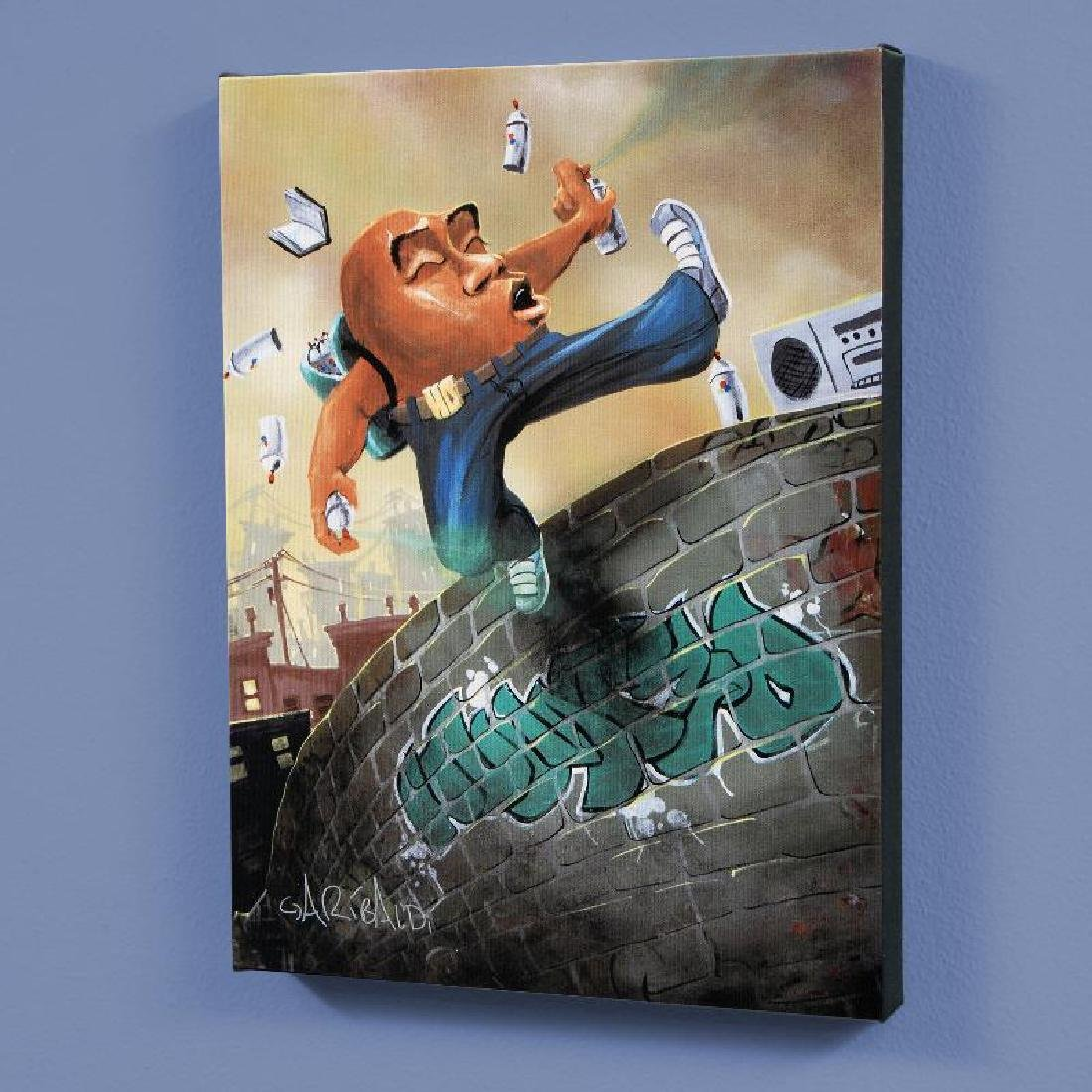 """""""Humpty Dumpty"""" LIMITED EDITION Giclee on Canvas by"""