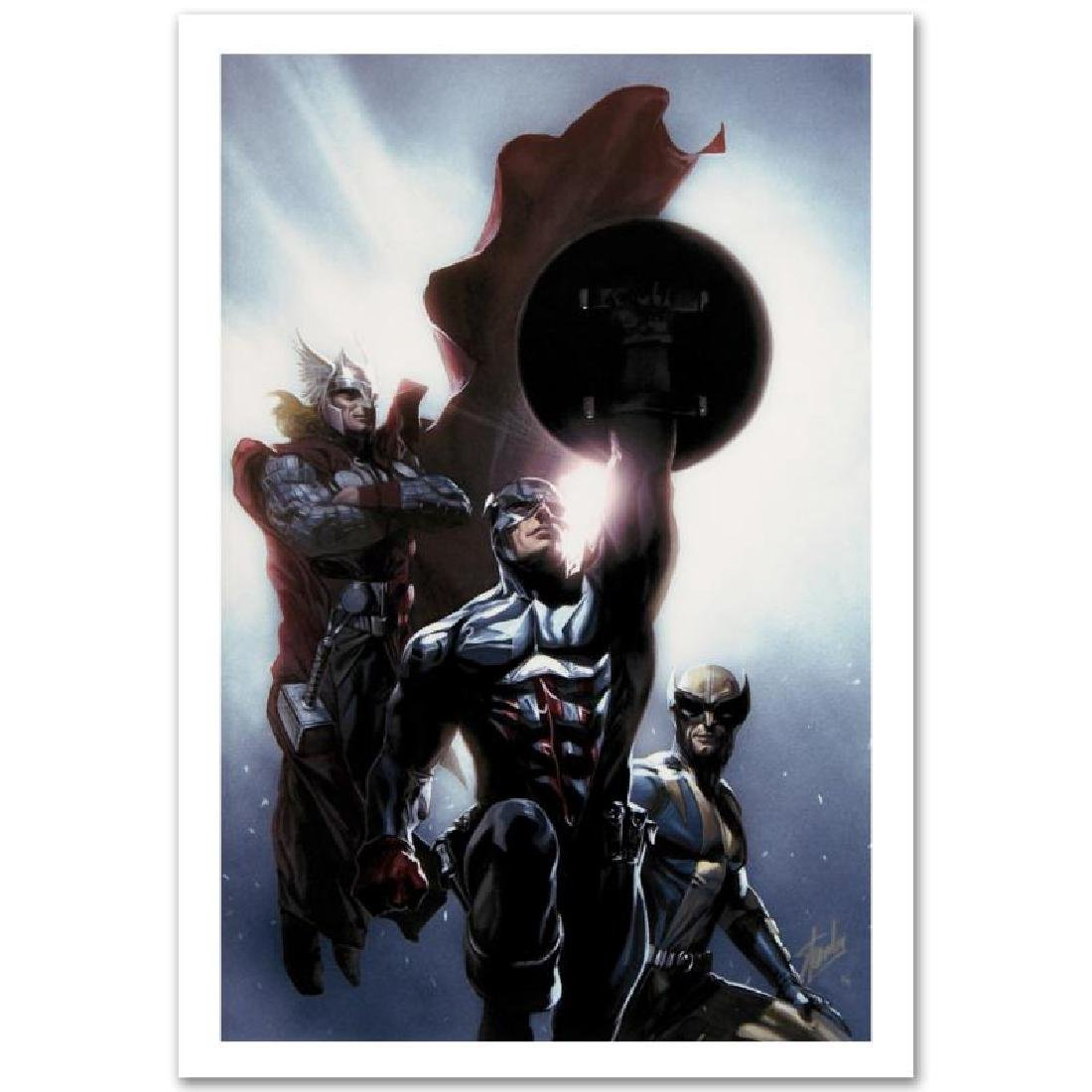 """Secret Invasion #8"" Limited Edition Giclee on Canvas"