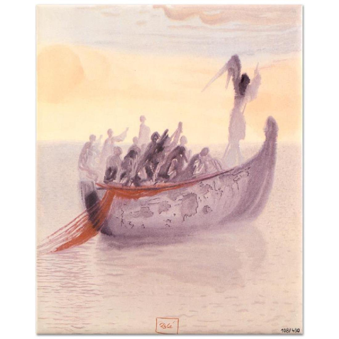 """Salvador Dali (1904-1989) - """"Ship of Souls"""" SOLD OUT"""