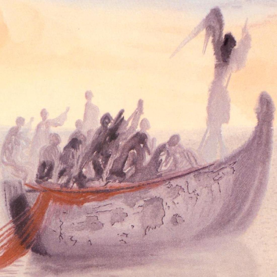 """Salvador Dali (1904-1989) - """"Ship of Souls"""" SOLD OUT - 2"""