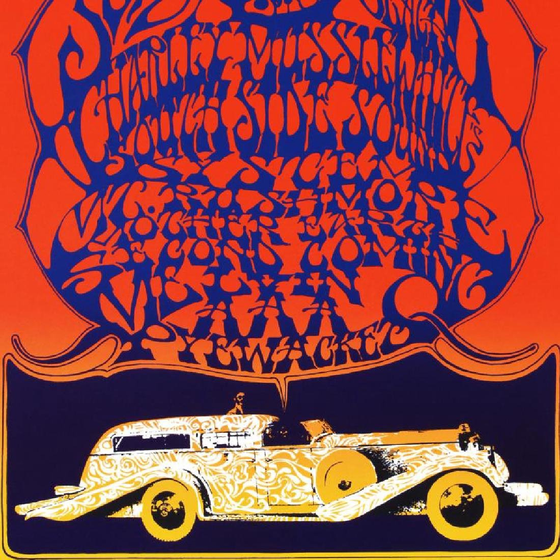 """""""Cosmic Car Show"""" Limited Edition Lithograph By Stanley - 2"""