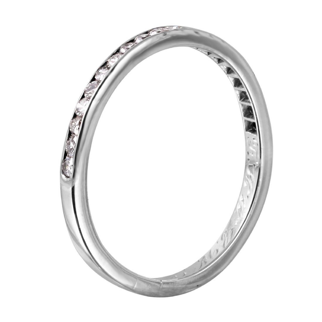 Platinum Diamond Wedding Band - 2