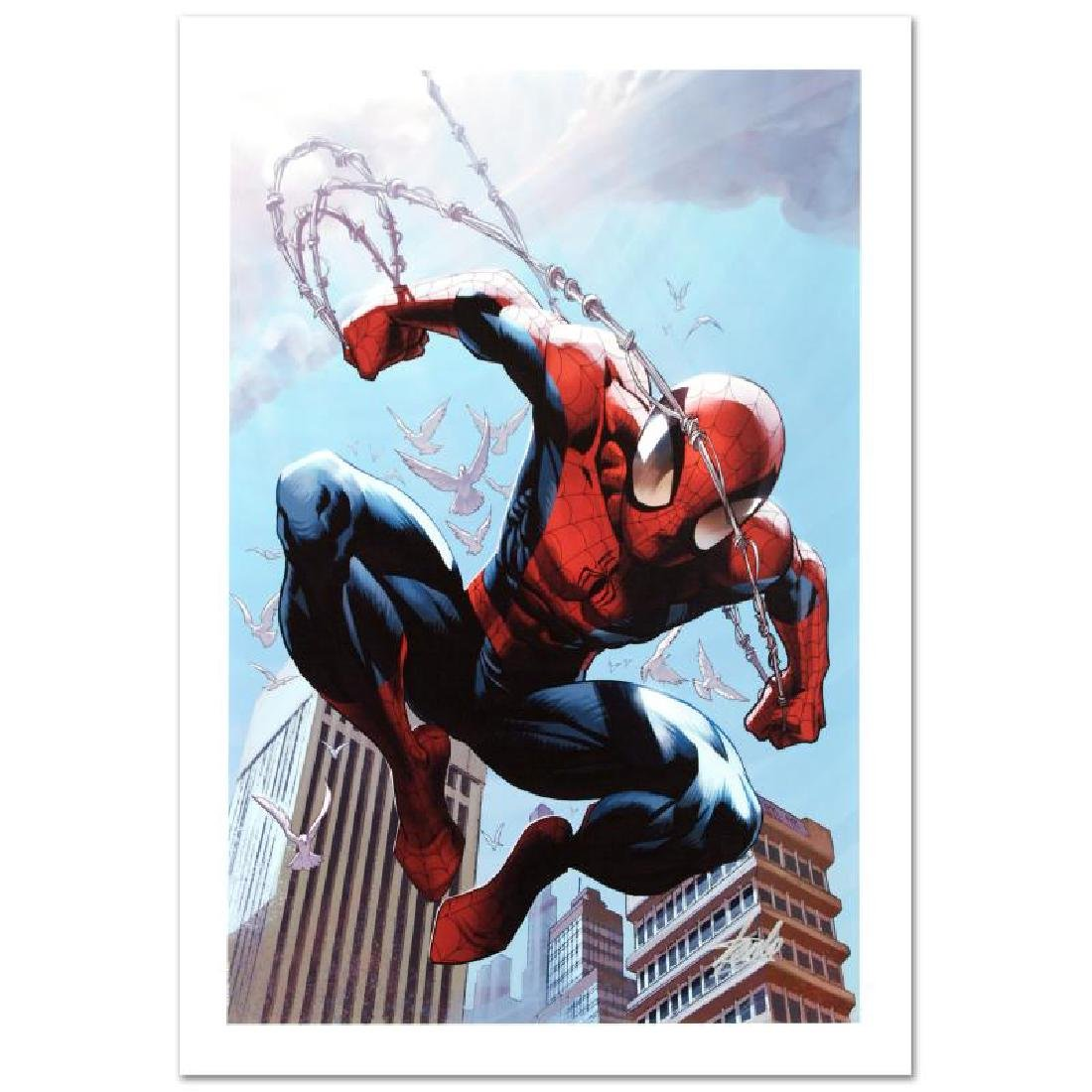 """Ultimate Spider-Man #156"" Limited Edition Giclee on"