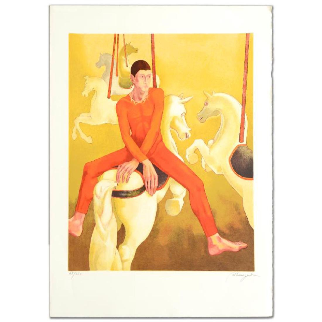 """Carousel"" Limited Edition Lithograph by Daniel"