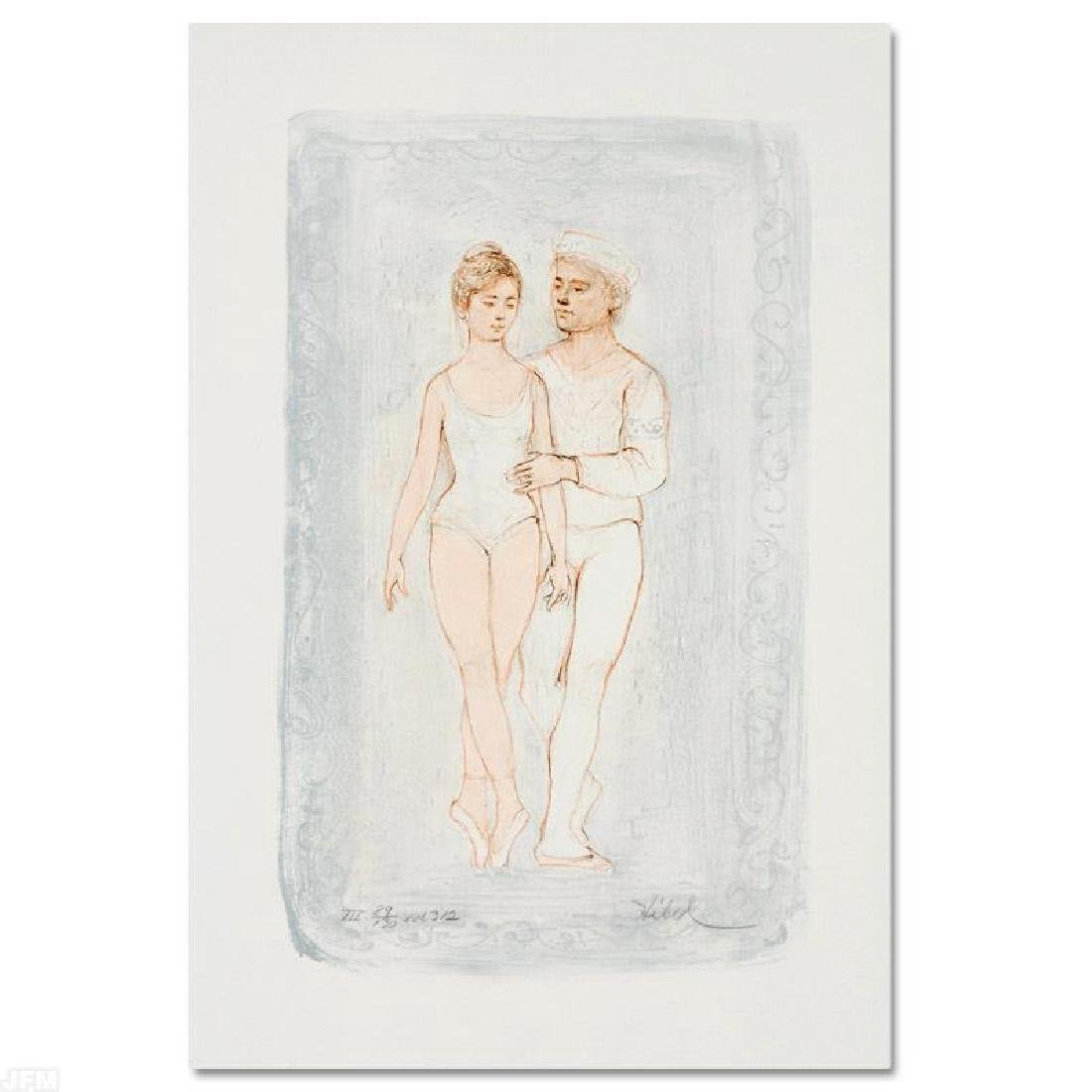 """Prelude"" LIMITED EDITION Lithograph by Edna Hibel"