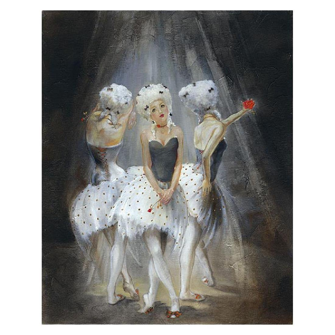 "Lena Sotskova, ""Old Play"" Artist Embellished Limited"