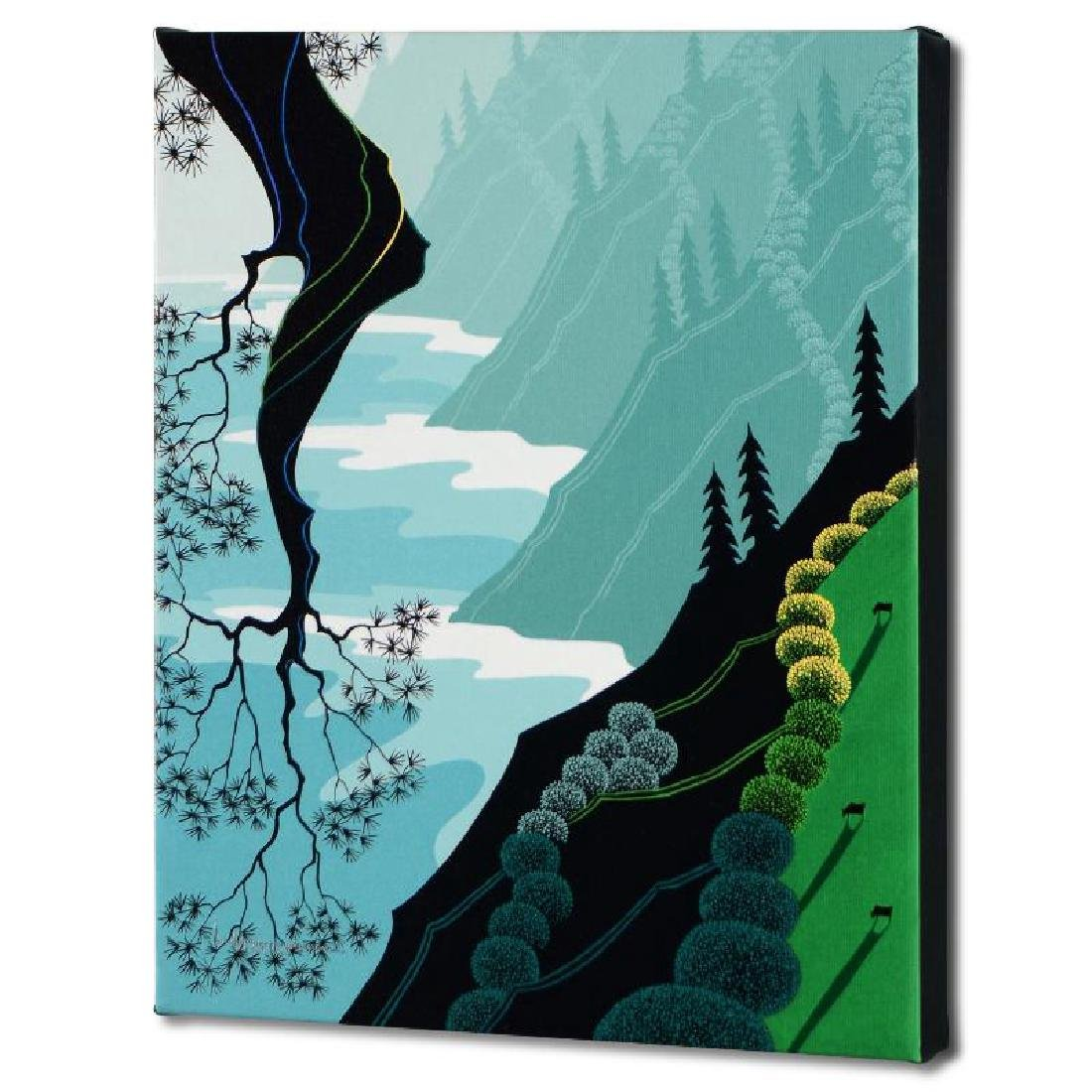 """Coastal Fir"" Limited Edition Giclee on Canvas by"