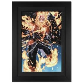 """""""Ghost Rider #28"""" Extremely Limited Edition Giclee on"""