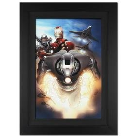 """""""Iron Man 2.0 #7"""" Extremely Limited Edition Giclee on"""