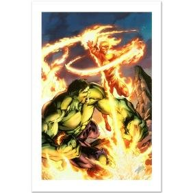"""""""Incredible Hulk & The Human Torch: From the Marvel"""