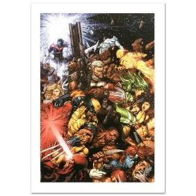 """""""X-Men #207"""" Limited Edition Giclee on Canvas by Chris"""