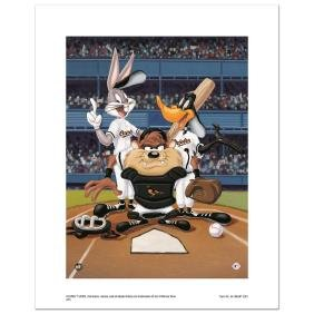 """""""At the Plate (Orioles)"""" Numbered Limited Edition"""