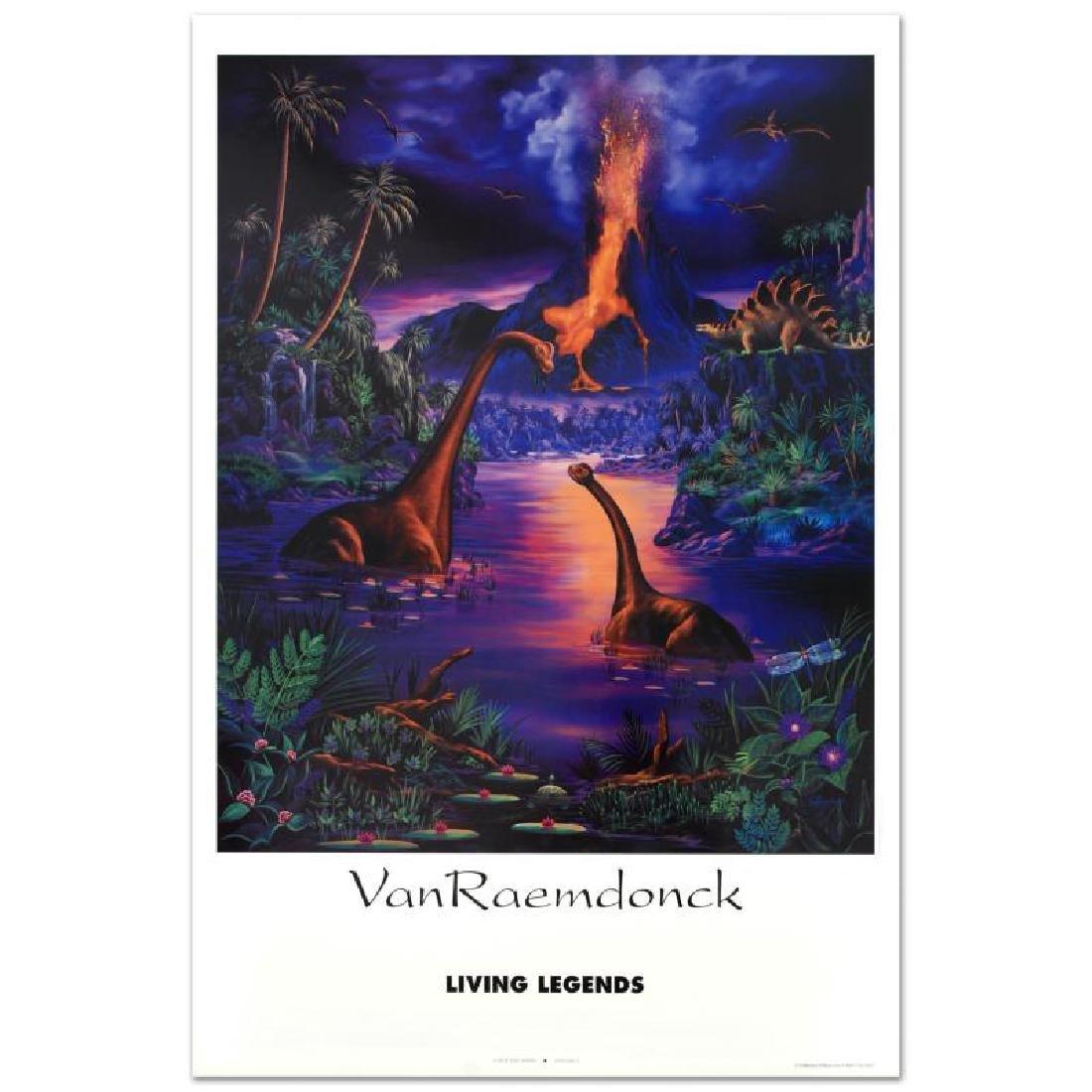 """Living Legend"" Poster (1993) by Eric Van Raemdonck,"