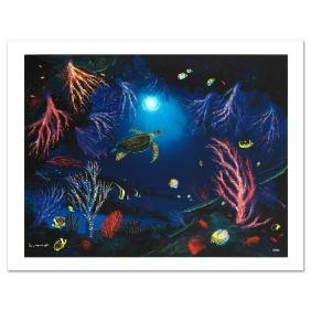 """Coral Reef Garden"" Limited Edition Giclee on Canvas by"