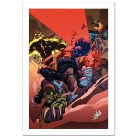 """Secret Invasion: X-Men #1"" Limited Edition Giclee on"