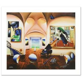 """""""Masters Musician Beginning"""" Limited Edition Giclee on"""