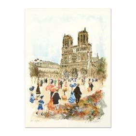 "Urbain Huchet - ""Notre Dame"" Limited Edition"