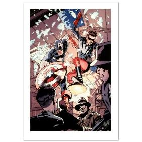 """""""Captain America and Bucky #621"""" Limited Edition Giclee"""