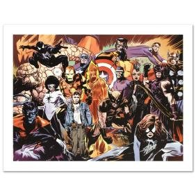 """Marvel 1985 #6"" Limited Edition Giclee on Canvas by"