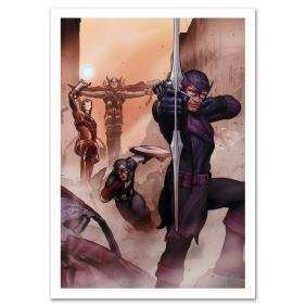 """Avengers: Solo #1"" Limited Edition Giclee on Canvas by"