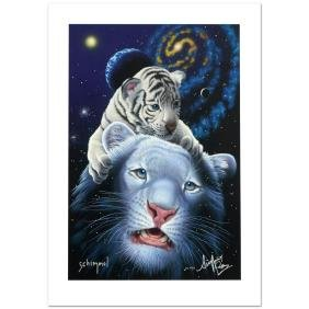 """""""White Tiger Magic"""" Limited Edition Giclee by William"""