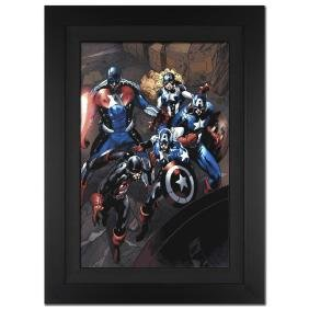 """Captain America Corps #2"" Limited Edition Giclee on"