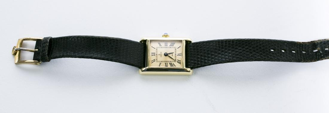CONCORD Wristwatch Ladies 14KY Yellow Gold Blue