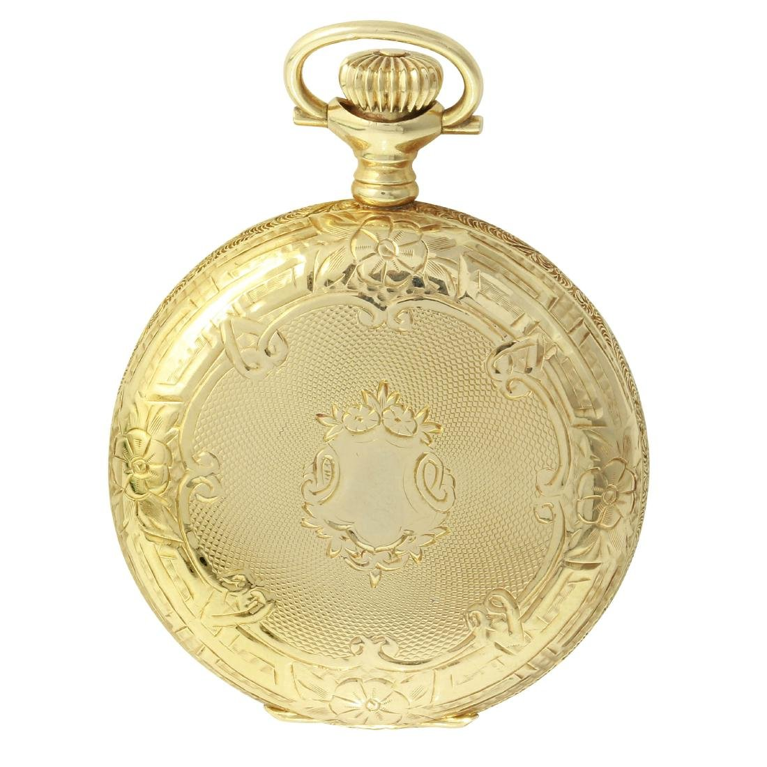 Elgin 14KT Yellow Gold Pocket Watch
