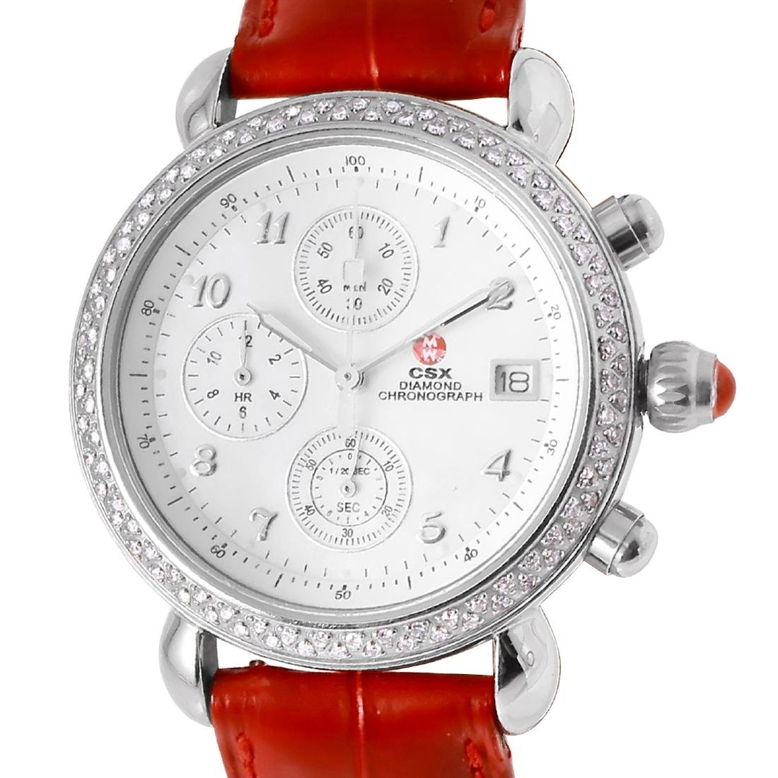 "Michele ""Chronograph Deco""  Quartz Watch"