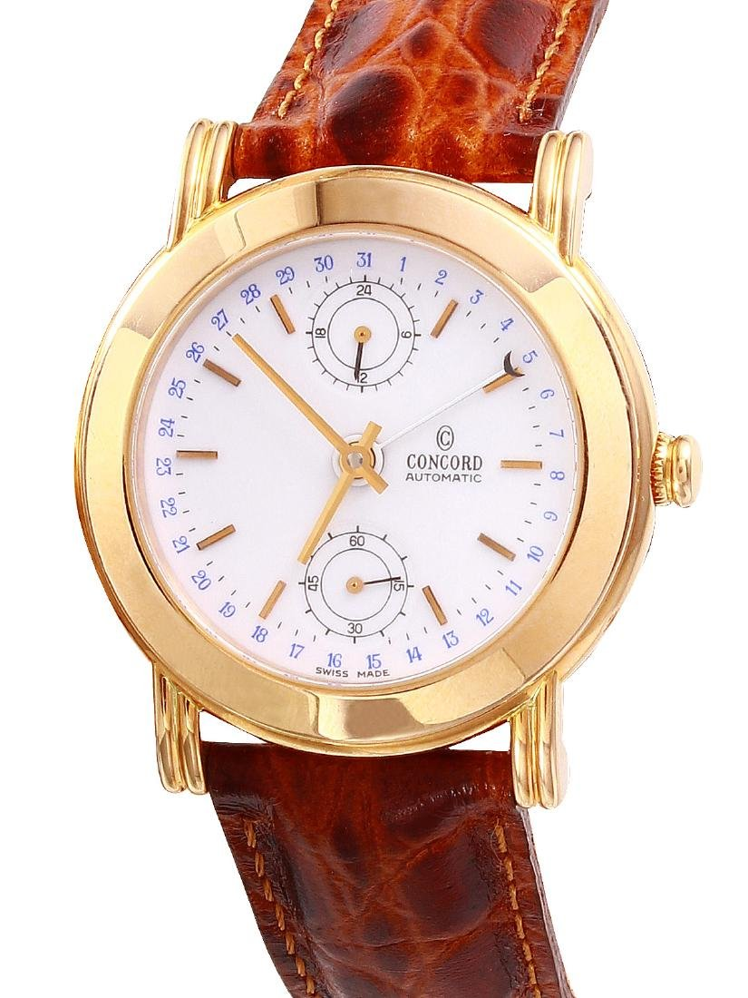 Concord Pointer Date 18KT Pink Gold Watch