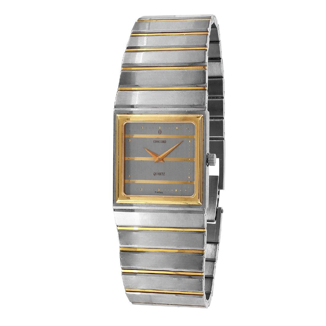 Concord Mariner SG 18KT Gold & Steel Watch