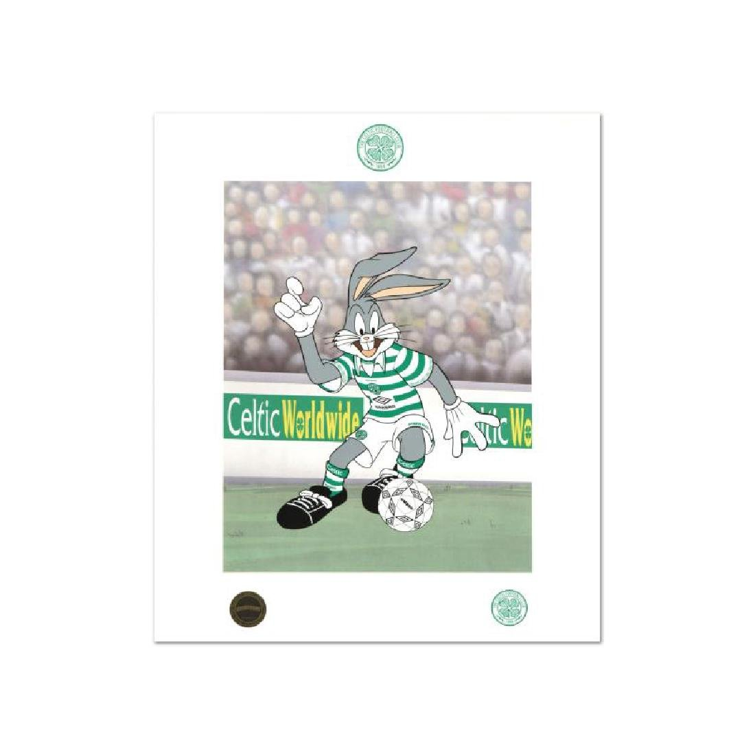 """""""Bugs Bunny Celtic Football Club"""" This is a Licensed"""