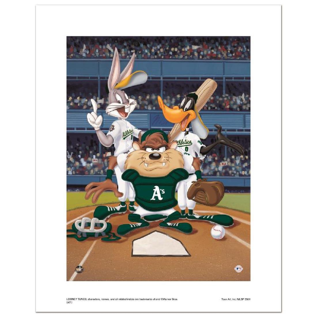 """""""At the Plate (Athletics)"""" Numbered Limited Edition"""
