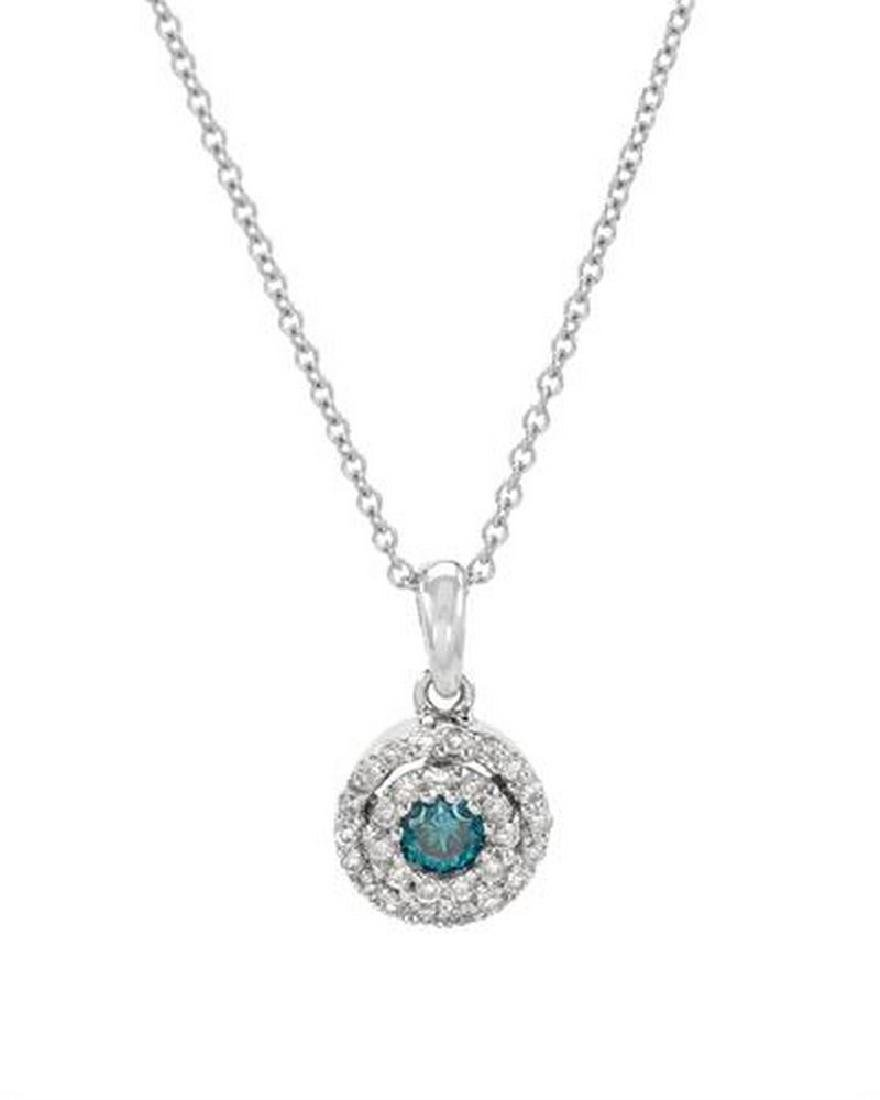18KT White Gold Ladies Diamond Necklace