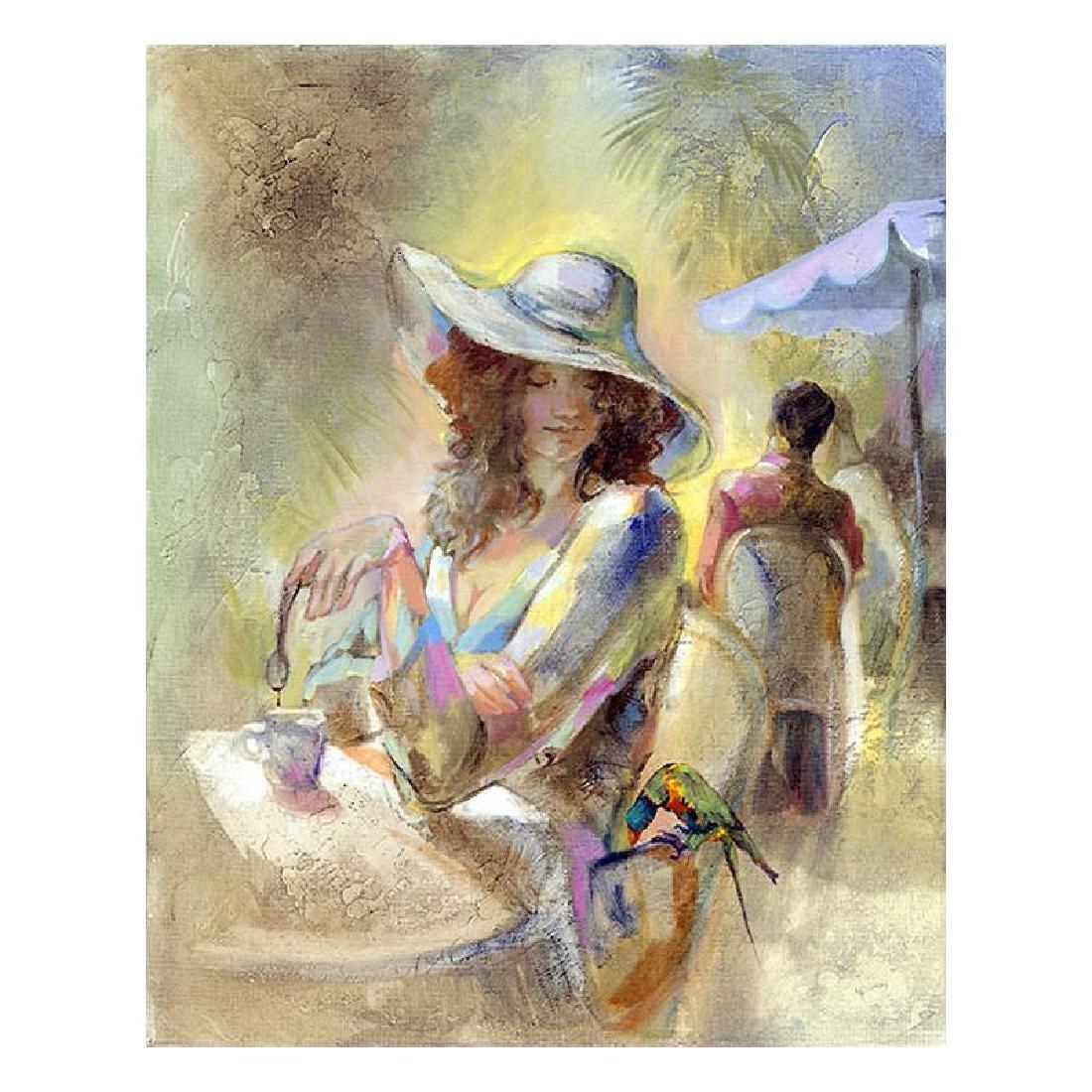 "Lena Sotskova, ""Miss Sunchine"" Artist Embellished"