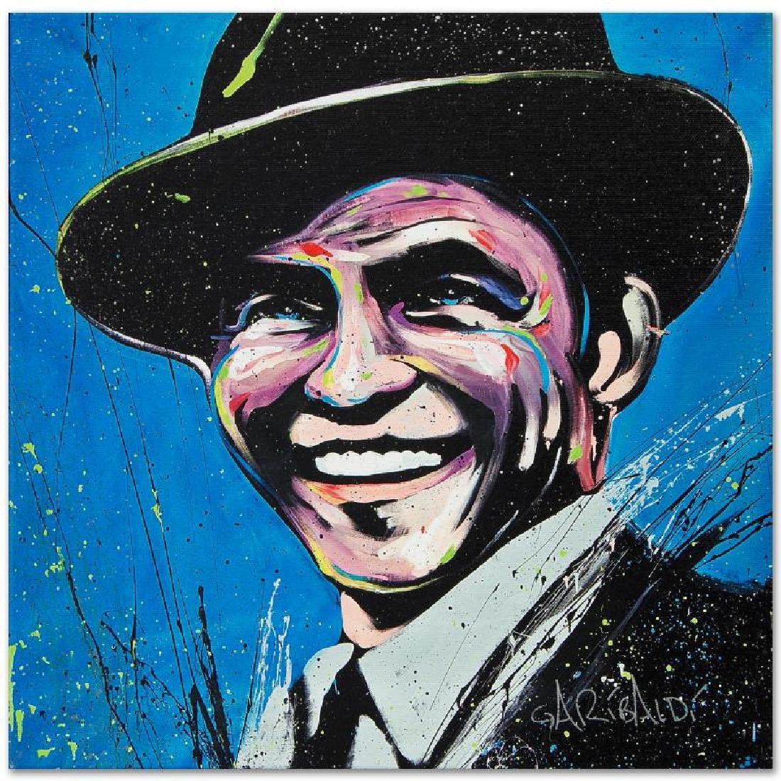 """""""Frank Sinatra (Blue Eyes)"""" LIMITED EDITION Giclee on - 3"""