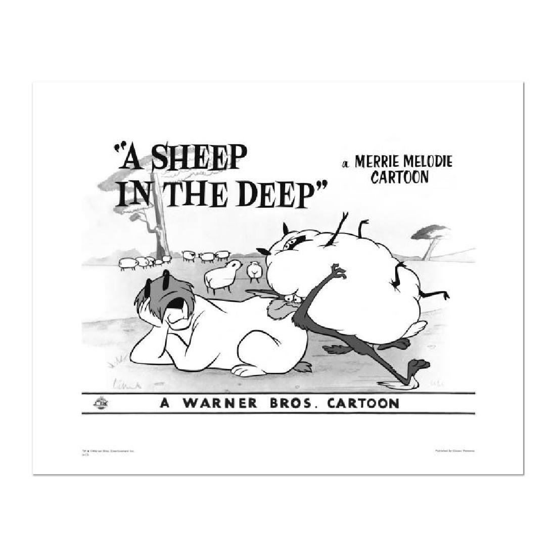 """A Sheep in the Deep - Flock"" Numbered Limited Edition"